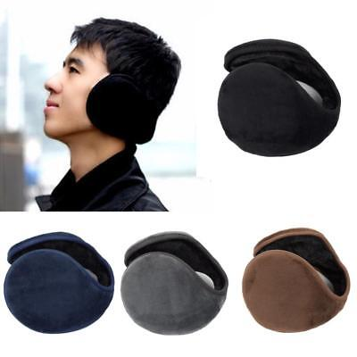 1 X Kids Ear Muff Earmuffs Boy Girl Warmers Winter Basic Polar Fleece Grip Wrap