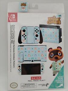 Animal Crossing New Horizons Outdoor Pattern Nintendo Switch Skin
