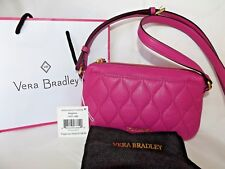 6856beb80feb item 6 VERA BRADLEY Quilted Sydney Crossbody MAGENTA Pink Genuine Leather  New with Tag -VERA BRADLEY Quilted Sydney Crossbody MAGENTA Pink Genuine  Leather ...