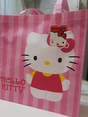 Hello Kitty Eco Tote large shopper reusable. New with tags. Authentic Sanrio.