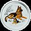 2018-Australia-colorized-Lunar-Year-of-the-Dog-1-4-oz-Silver-Bullion-Coin thumbnail 1