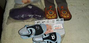 3 X Krabbelschuhe Krabbelpuschen Rutschsocken Babyschuhe Gr 80-86 Versch.farben Gesundheit FöRdern Und Krankheiten Heilen Kleidung, Schuhe & Accessoires