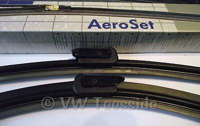 Genuine Audi A4 RHD 2001-2008 B6//B7//8E Front Aero Wiper Arm Blade Upgrade Kit
