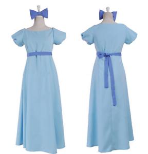 Film Peter Pan Wendy Rachael Cosplay Costume Women Party Fancy Dress B1