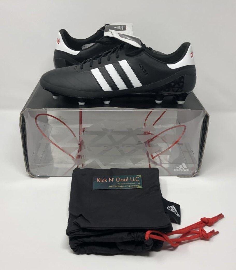 Edición Limitada De Adidas Copa SL Tierra Firme Botines de fútbol (US 10.5) Negro blancoo Rojo