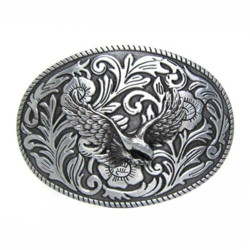 Unique Mens Belt Buckle New Vintage Style Western Cowboy Rodeo Metal Jewelry
