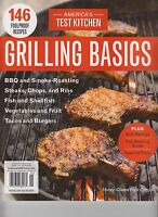 Cook's Illustrated Grilling Basics & 146 Recipes 2017 From Americas Test Kitchen