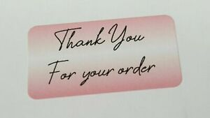 325-x-Thank-You-for-Your-Order-Labels-Strawberry-Shortcake-Matte-Labels-Stickers