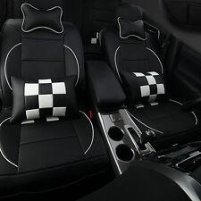 10x Car Seat Cover Cushion PU Leather For VW GOLF POLO PAMEAT JETTA FABIA ME}ME