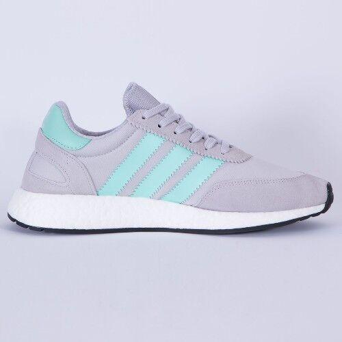 Männer adidas iniki läufer licht solide grau / mint green bb2747 größen: _5.5_6