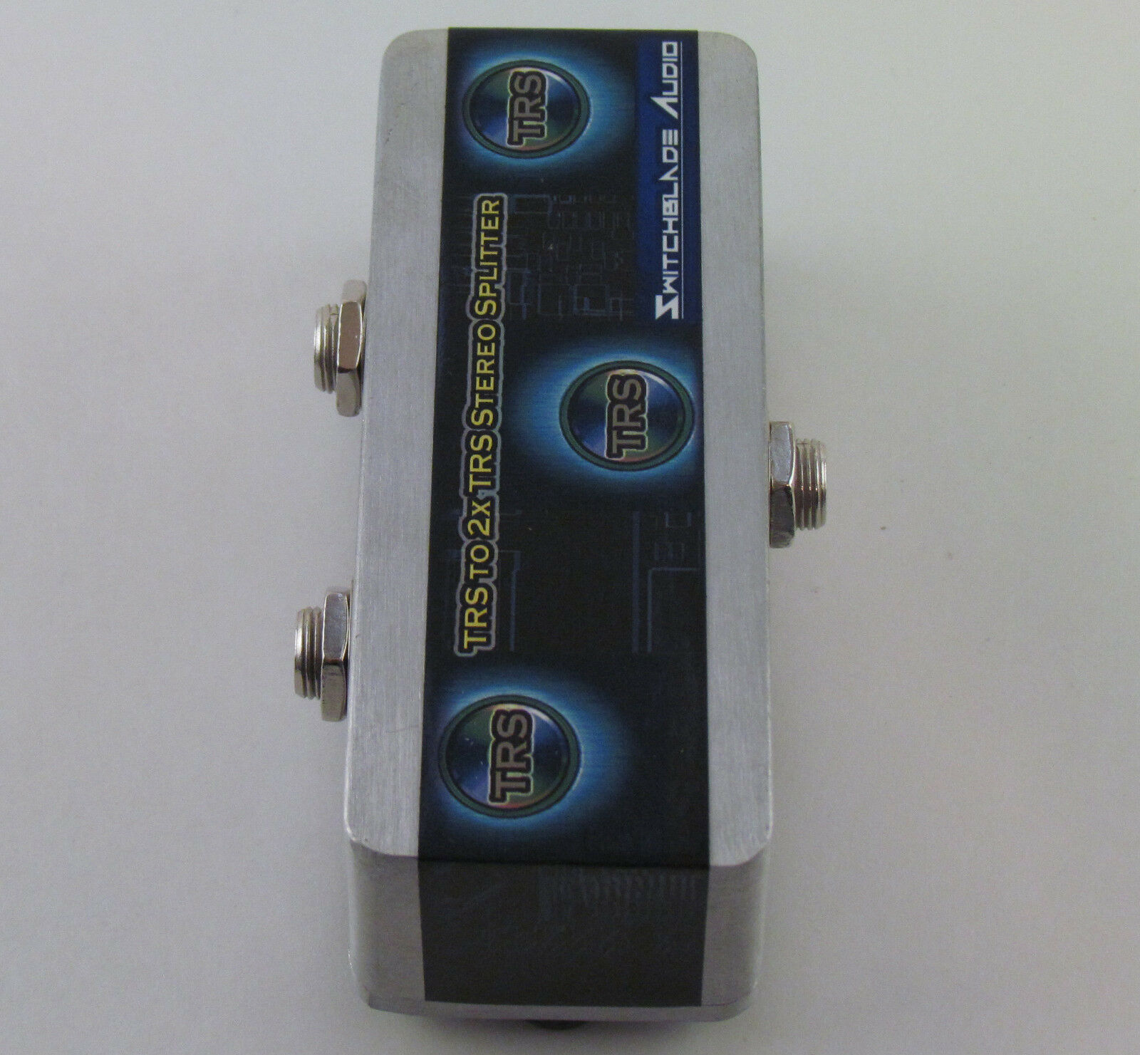 TRS 1 4  to 2 TRS 1 4  Stereo Splitter Combiner Y-Cable Adapter Headphone 6.35mm
