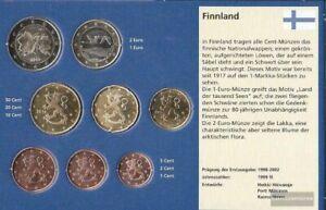 Finlande 2014 série de monnaies fleur de coin 2014 euro-après enquête