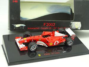 Hot-Wheels-1-43-Ferrari-F1-F2002-Schumacher-Canada-GP