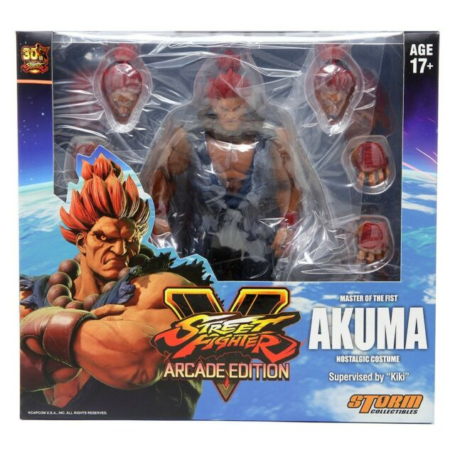 Storm Collectibles Street Fighter M.Bison Special Edition NYCC SIGNED BY KIKI