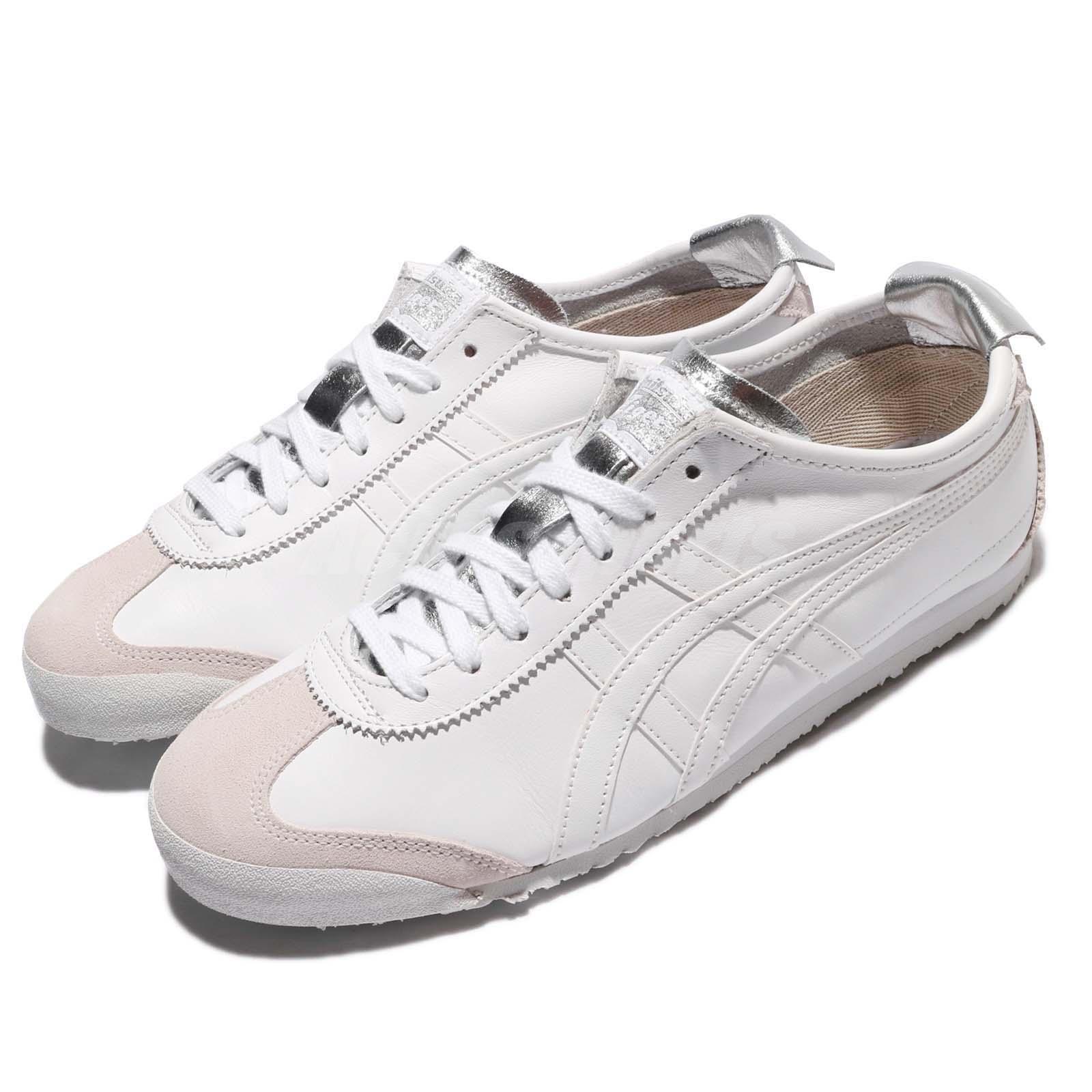 Asics Onitsuka Tiger Mexico 66 blanco Leather Men mujer zapatos zapatillas D7C3L-0101