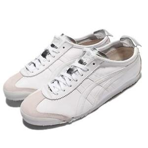 Tiger 66 Men Asics Shoes Leather Onitsuka Mexico Women White H9YWIED2