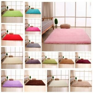 Lieblich Das Bild Wird Geladen Neu Flauschige Teppiche Antirutsch Bereich Teppich  Esszimmer Teppich