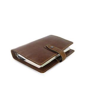 Filofax-Malden-Personal-Size-Ochre-Buffalo-Leather-Organiser-Diary-425808