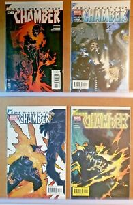 CHAMBER-ICONS-039-s-1-2-3-amp-4-COMPLETE-MARVEL-COMICS-VF-NM-S828