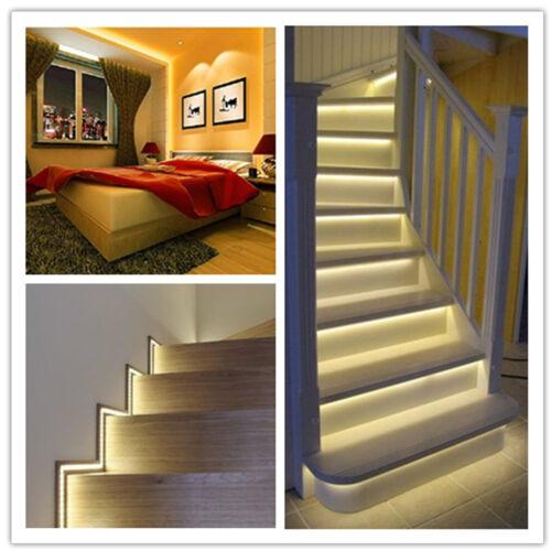 5m 600 LED Strip Lights lamp 5630 5730 SMD Kitchen Under Cabinet Cupboard lamp