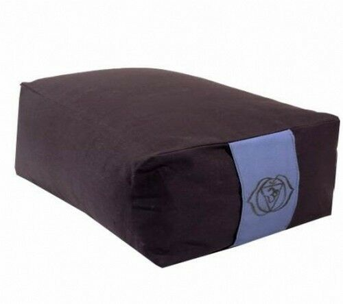 Ajna Meditationskissen rechteckig Chakra 6 indigo Matte Yogamatte XL Set
