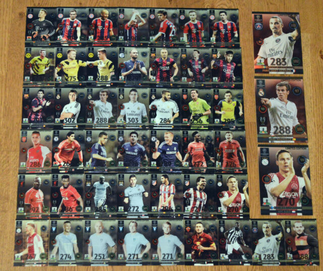 Panini Adrenalyn XL Champions League 2014/2015 *Limited Edition aussuchen* 14 15