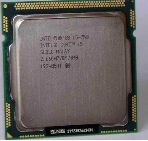 Intel CPU Core i5-750 2.66GHZ//8M LGA 1156