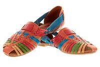 Women's Genuine Authentic Huaraches Mexican Sandals Flip Flop Shoes Slip On 771