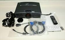 Mitsubishi DLP HD Home Theater Projector HD1000 1500 lumens
