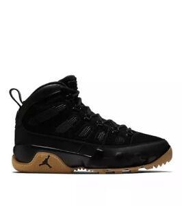 5d0dae313241 Nike Air Jordan 9 IX Retro Boot Black Gum NRG 9.5 AR4491-025 Rare ...