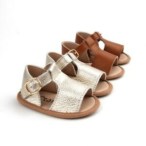 Baby Girl shoe Closed Toe Baby Sandals Toddler Sandals Baby Soft-Sole Sandals