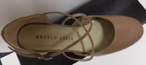 "New Angelo Luzio Cabaret Fusion Rita Suede Sole Leather Ballroom Shoes 2/"" Heel"