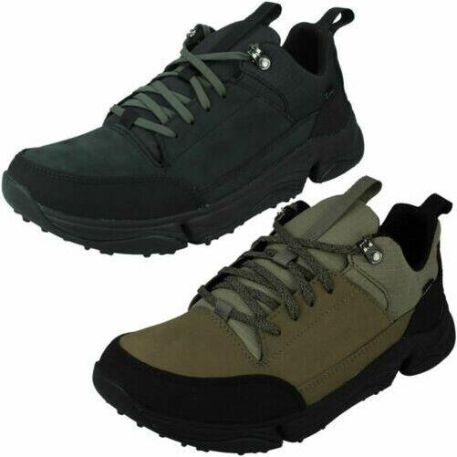 Mens Clarks Shoes Randle Walk Tobacco
