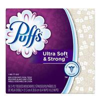 Puffs Ultra Soft - Strong Facial Tissues Color May Vary 56 Ea