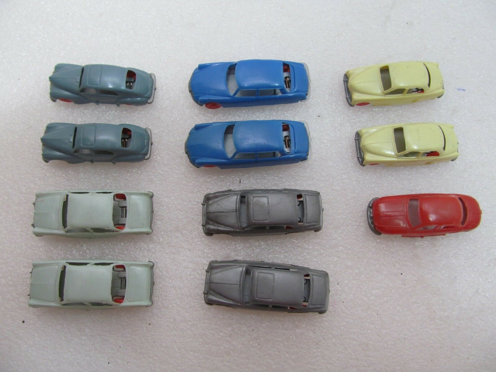 11 Rare Vintage Jouef HO Scale Automobiles Made in France