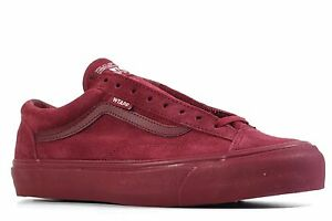 9bfdcd98a4 WTAPS x Vans OG Style 36 LX WTAPS Burgundy Various Sizes DS 2015 ...