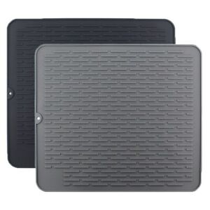 1X-Large-Silicone-Placemat-Dish-Drying-Mat-Kitchen-Draining-Table-Drain-Mat-Y9V9