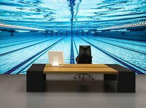 Swimming Pool  Photo Wallpaper Wall Mural DECOR Paper Poster Free Paste