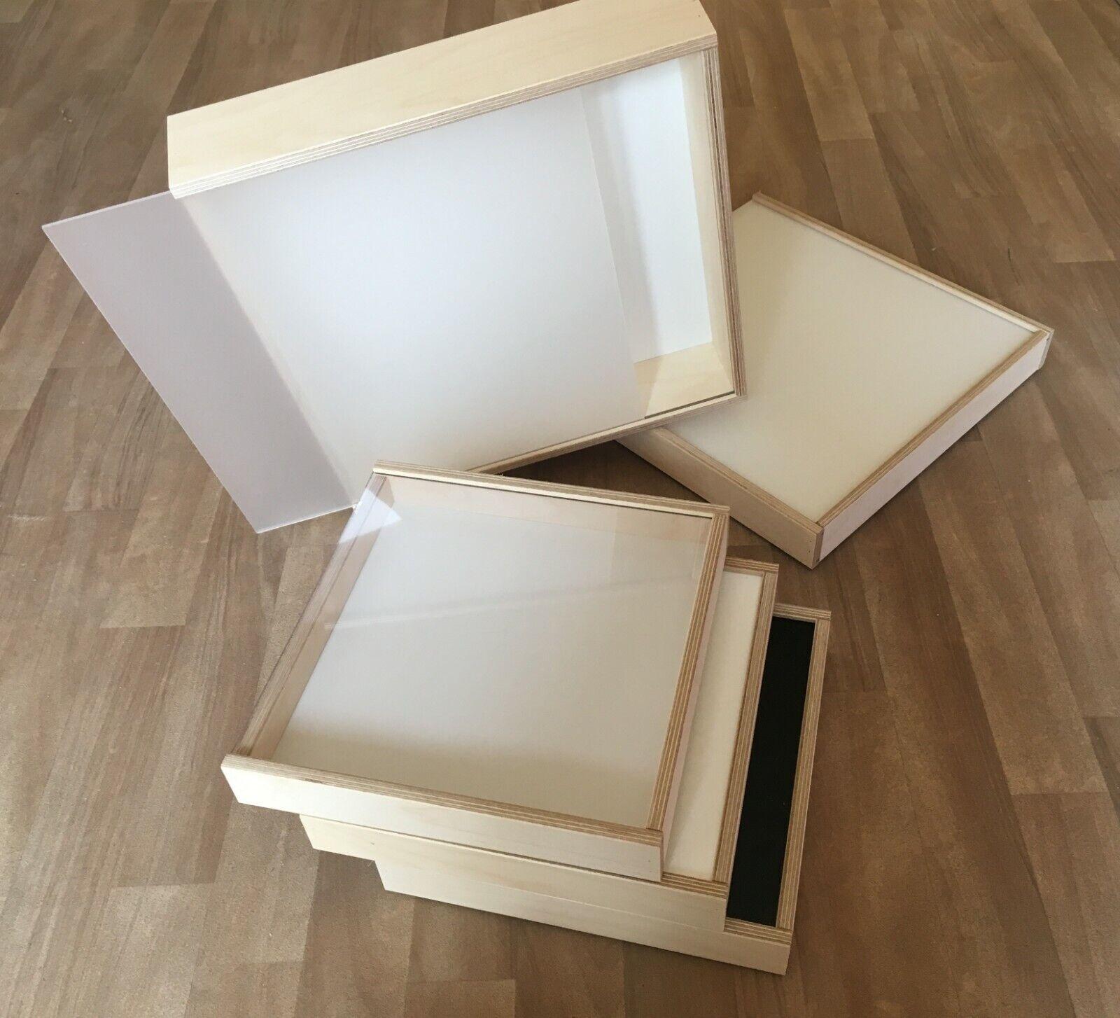 Verkaufshilfe mit Plexiglas Deckel Schmuck Schaukasten Schatulle Aufbewahrung