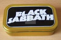 Black Sabbath  1 and 2oz Tobacco/Storage Tins
