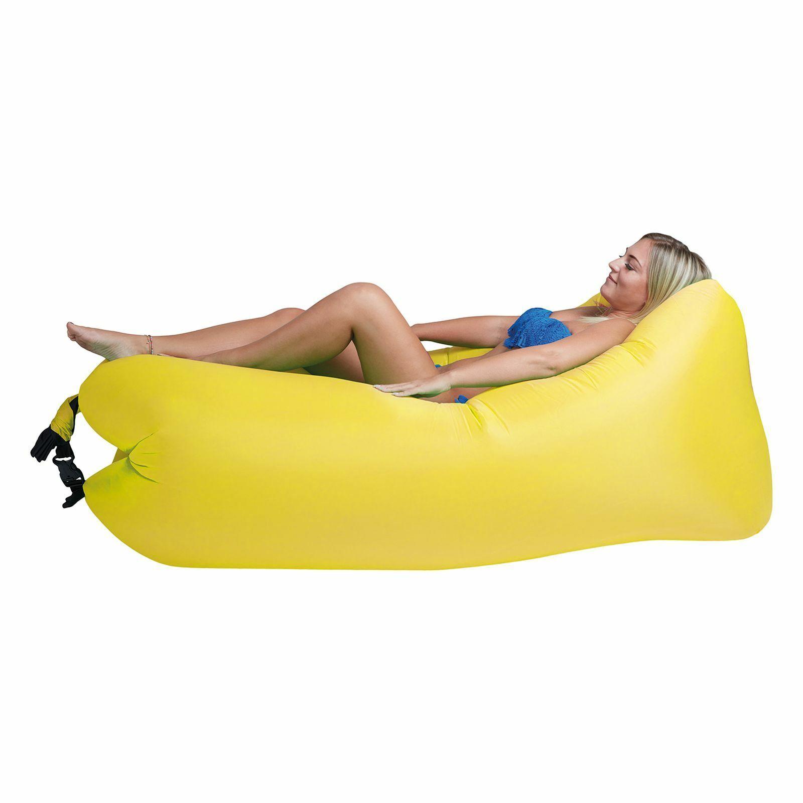 Air Lounger To Go 2 Liegesack Sitzsack Luft Sofa Lounge Sessel Couch aufblasbar