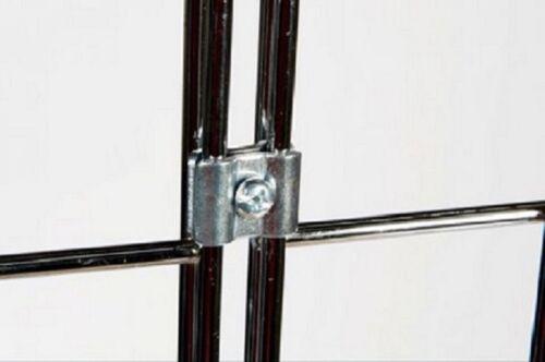 Gridwall Gitter Display Chrome Zubehör Haken Korb Einzelhandel Ladenbau