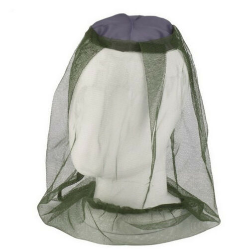 Anti-mosquito Bee Bug Insect Fly Mask Cap Hat with Head Net Mesh.Face Protection