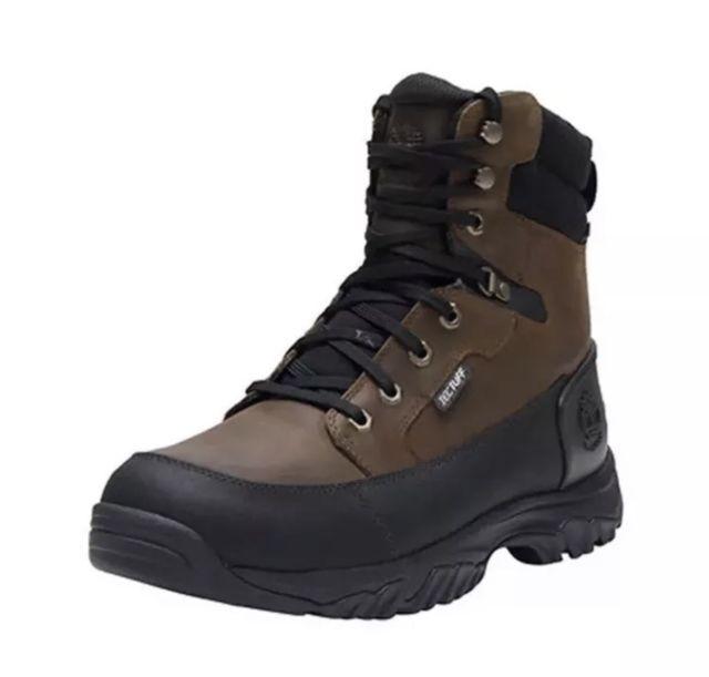 db4b311f071 Timberland Guyd BT 8in Men's Hiking BOOTS A158d Dark Brown Size 8.5 ...
