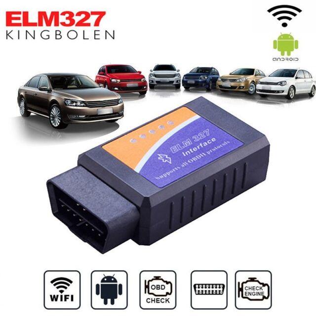 WiFi Obd2 Elm327 Bluetooth Car Diagnostic Scanner Code Reader Tool Auto  Tools