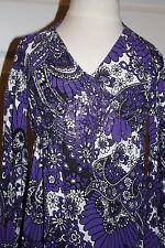 Kleid v. Nolita Pocket NEU Lila/creme glänzend NP 110 E