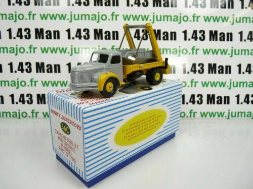 DT102E Voiture réédition DINKY TOYS atlas 34C Camion Berliet Multibenne Marrel