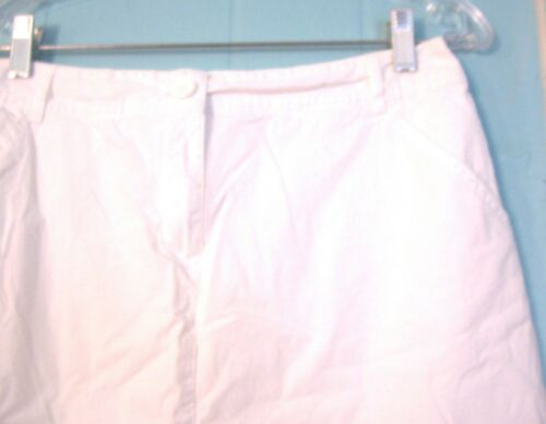 White Stag Cotton and Cotton Blend Skorts Sz 6-18