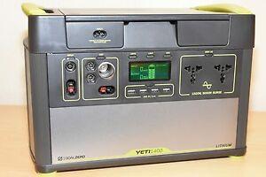 GoalZero-Yeti-1400-Lithium-Solar-Generator-Stromerzeuger-230V1500W-VORFUHRER