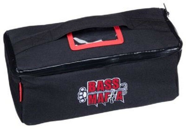 New Bass Mafia Collapsible Soft Side Case w  Bait Sleeves Fishing BOSS-BAG